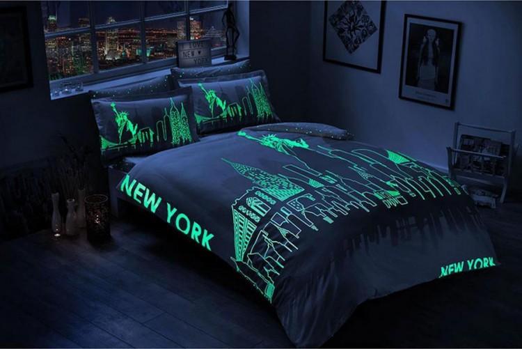 Светящиеся постельное белье