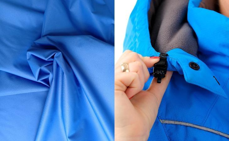 Куртка из ткани таслан