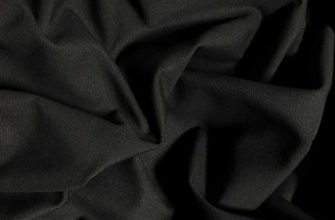 Ткань номекс черного цвета