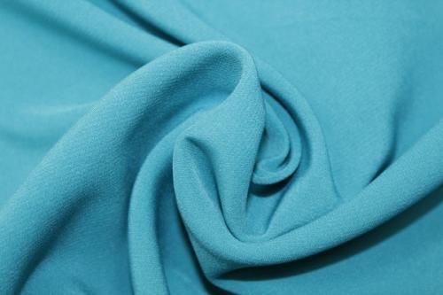 Ткань барби бирюзового цвета